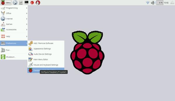 Raspbian Jessie LXDE desktop