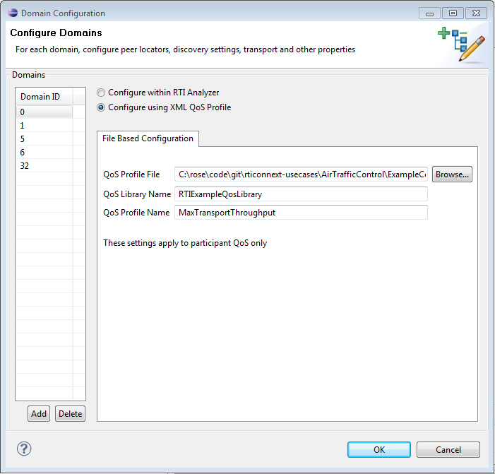 Configure Analyzer with XML